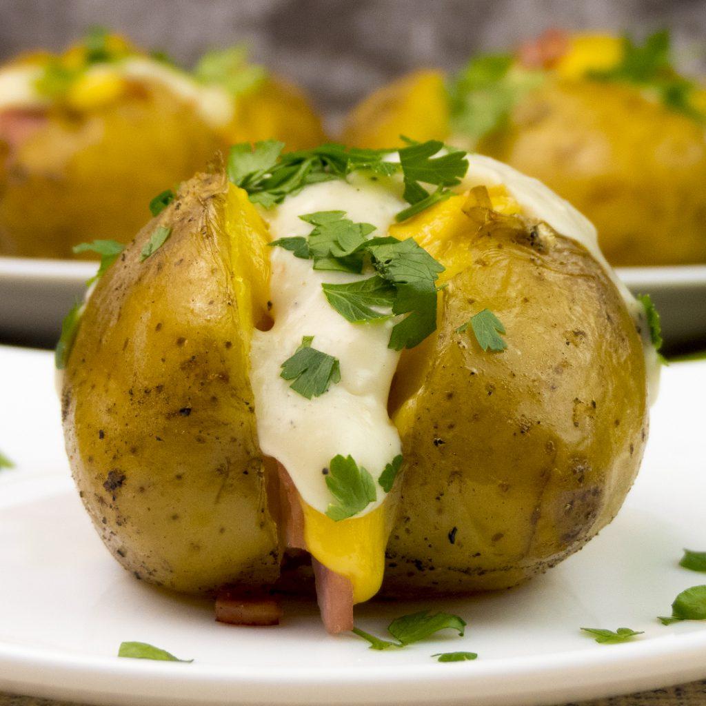 Картошка в духовке при похудении